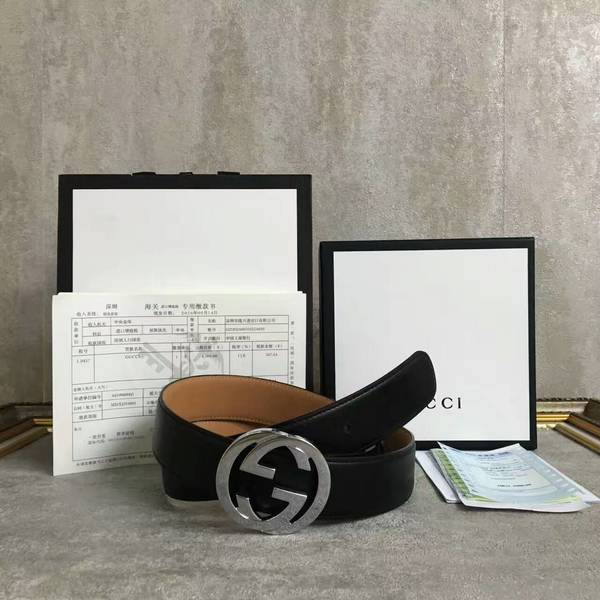 Gucci Original Calf Leather 4.0CM Belt 68885C