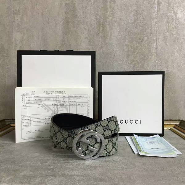 Gucci Original Calf Leather 4.0CM Belt 68885D