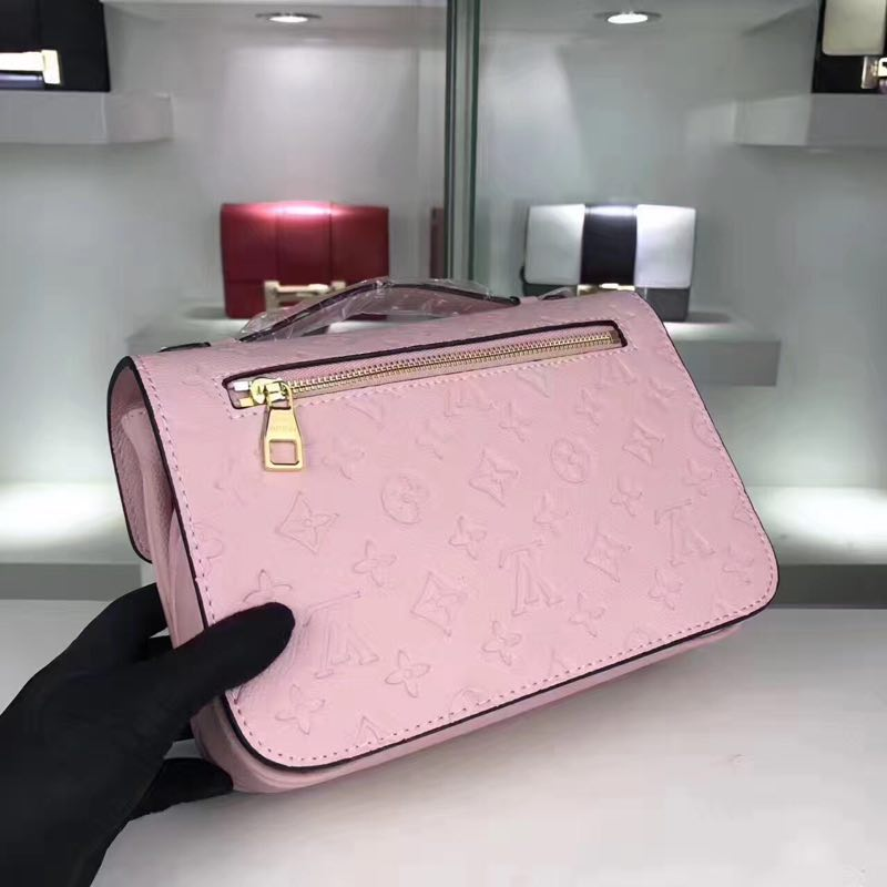 Louis Vuitton Monogram Empreinte Bag M44018 Pink