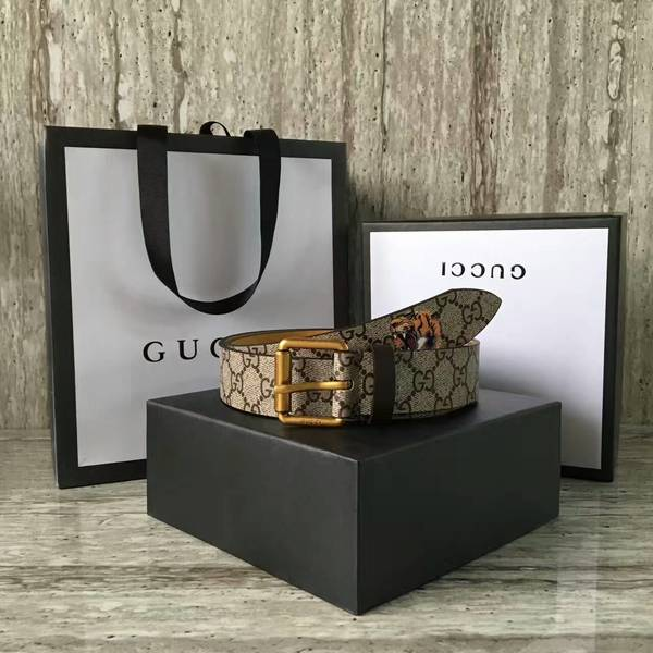 Gucci 4.0cm Original Suede Leather Belt 17418E