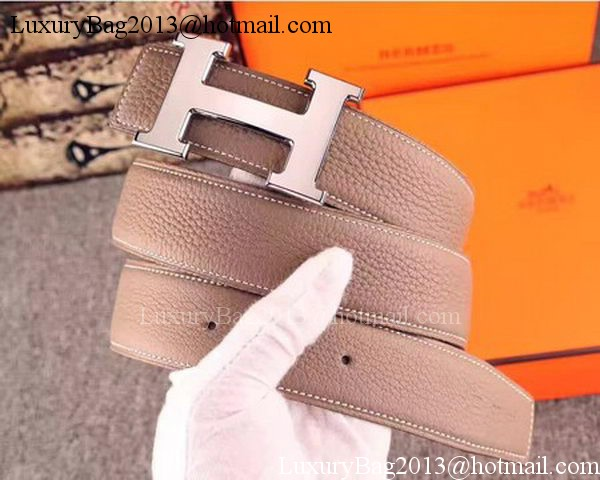 Hermes 40mm Belt H170417 Grey