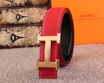 Hermes 40mm Belt H170417 Red