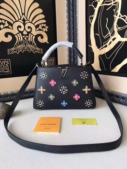 Louis Vuitton Mechanical Flowers CAPUCINES BB M54310 Black