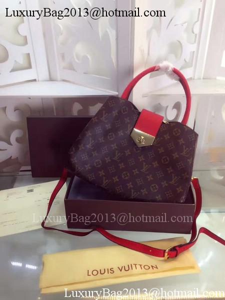 Louis Vuitton Monogram Canvas Tote Bag M42562 Red