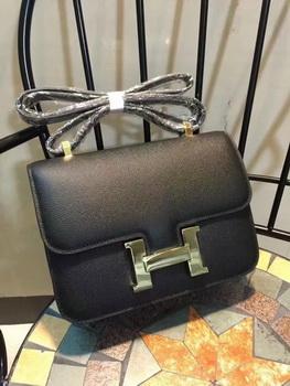Hermes Constance Bag Calfskin Leather H9978 Black