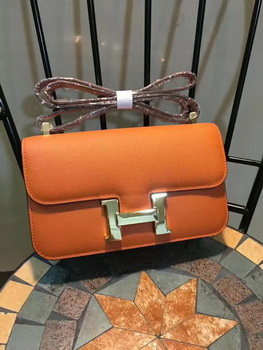 Hermes Constance Bag Calfskin Leather H9978 Orange
