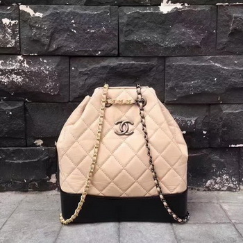 Chanel Hobo Bag Original Sheepskin Leather A92994 Apricot