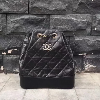 Chanel Hobo Bag Original Sheepskin Leather A92994 Black