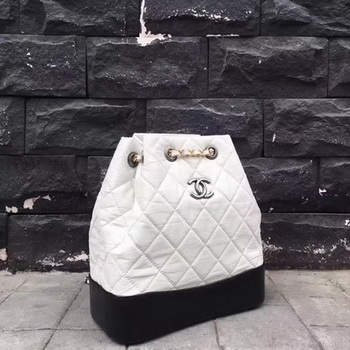 Chanel Hobo Bag Original Sheepskin Leather A92994 White