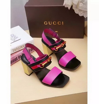 Gucci 80mm Sandal Leather GG1133 Rose