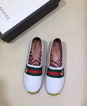Gucci Casual Shoes Leather GG1134 OffWhite