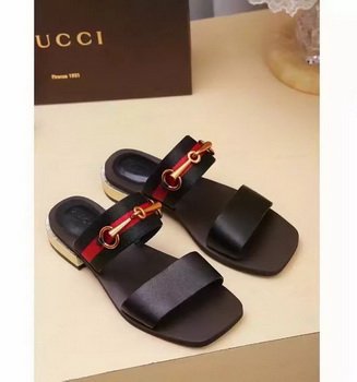 Gucci Sandal Leather GG1132 Brown