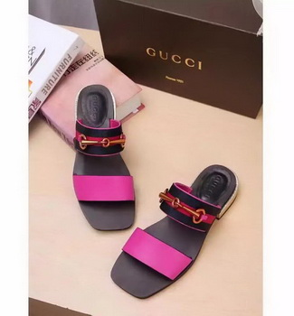 Gucci Sandal Leather GG1132 Rose