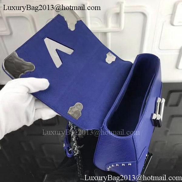 Louis Vuitton Epi Leather TWIST MM M42364 Blue