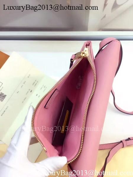 Louis Vuitton Monogram Empreinte POCHETTE FELICIE M50258 Pink