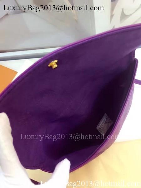 Louis Vuitton Monogram Empreinte POCHETTE FELICIE M50258 Purple