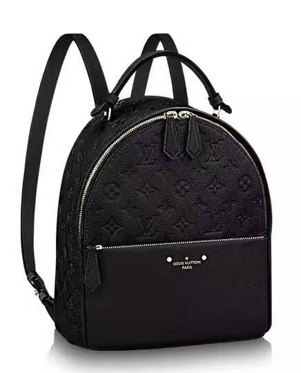 Louis Vuitton Monogram Empreinte Mini Backpack 44016 Black