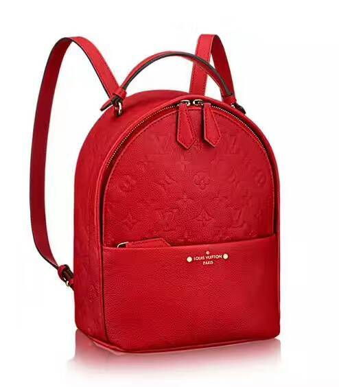 Louis Vuitton Monogram Empreinte Mini Backpack 44016 Red