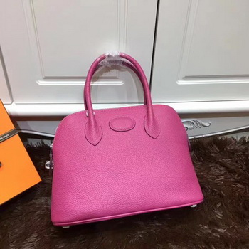 Hermes Bolide 31CM Calfskin Leather Tote Bag B3302 Rose