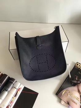Hermes Evelyne 30cm Messenger Bag E3301 Black