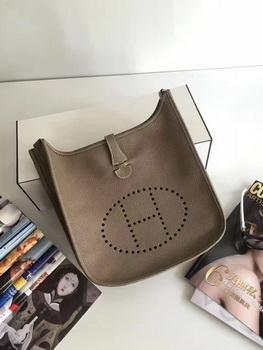 Hermes Evelyne 30cm Messenger Bag E3301 Grey