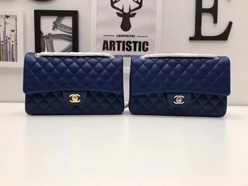 Chanel 2.55 Series Flap Bags Original Sheepskin A1112 Blue