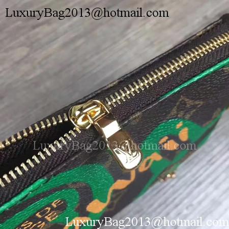 Louis Vuitton Monogram Canvas POCHETTE ACCESSOIRES M60158 Green