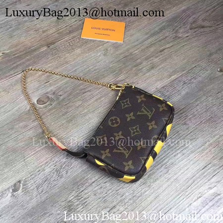 Louis Vuitton Monogram Canvas POCHETTE ACCESSOIRES M60158 Yellow