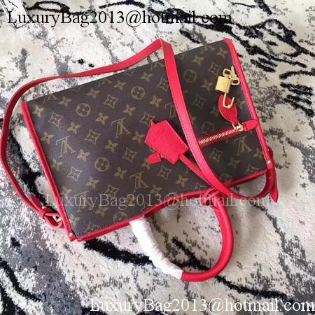 Louis Vuitton Monogram Canvas POPINCOURT PM M43462 Red