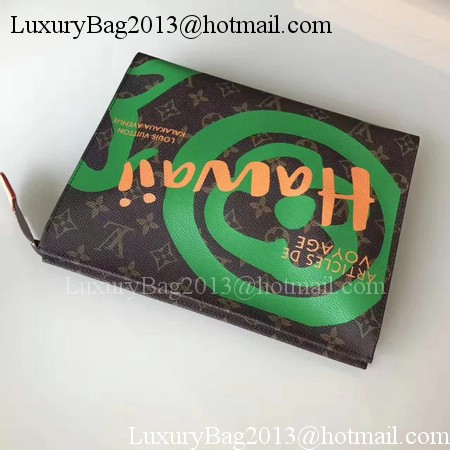 Louis Vuitton Monogram Canvas TOILETRY POUCH 26 M44137 Green