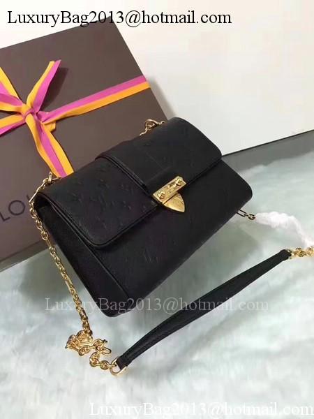 Louis Vuitton Monogram Empreinte SAINT SULPICE PM M43393 Black