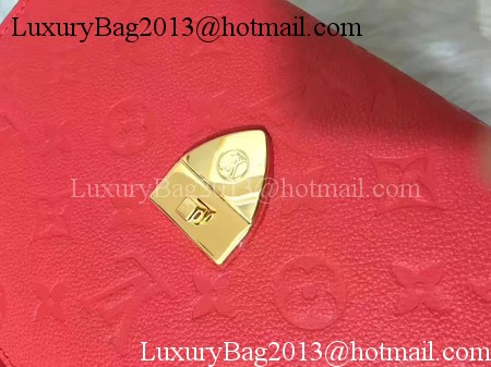 Louis Vuitton Monogram Empreinte SAINT SULPICE PM M43393 Red
