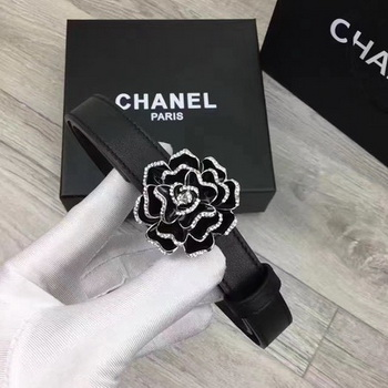 Chanel 20mm Leather Belt CH0801 Black