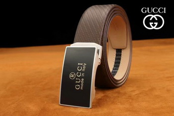 Gucci 34mm Leather Belt GG0805 Brown