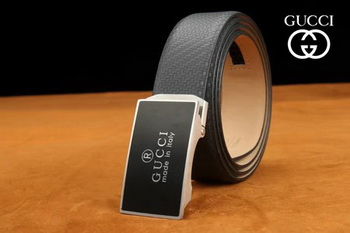 Gucci 34mm Leather Belt GG0806 Black