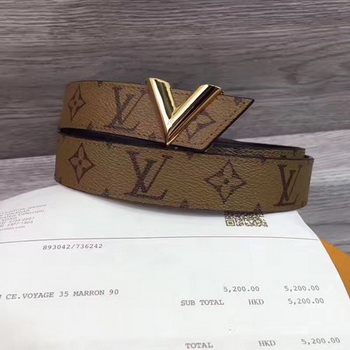Louis Vuitton 30mm Belt M9305 Wheat