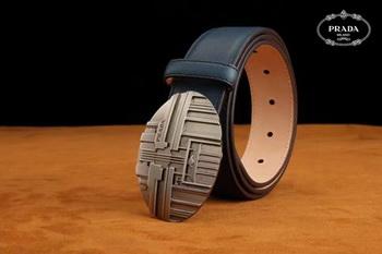 Prada Leather Belt PD0802 Royal