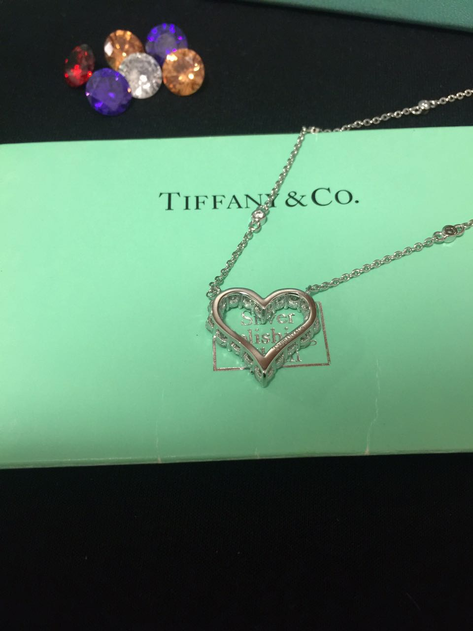 TIFFANY Necklace Loving Heart 1783