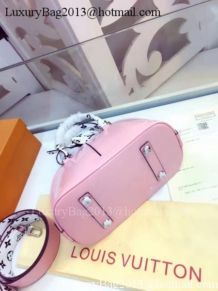 Louis Vuitton Monogram Vernis ALMA BB M54785 Pink