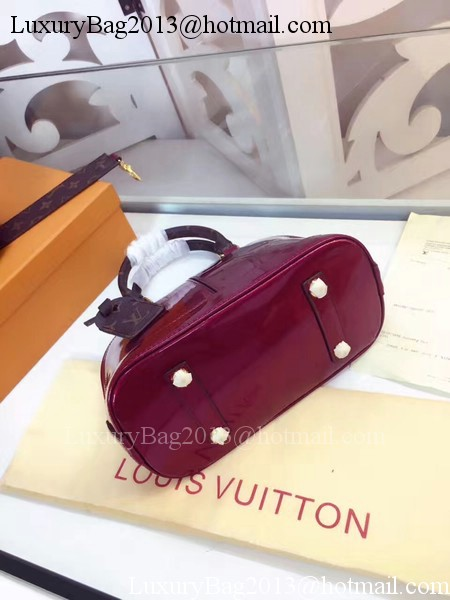 Louis Vuitton Monogram Vernis ALMA BB M54785 Rose