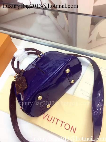 Louis Vuitton Monogram Vernis ALMA BB M54785 Violet