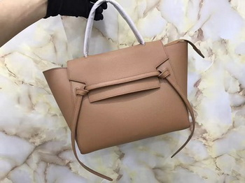 Celine Belt Bag Original Palm Skin Leather C3349 Apricot