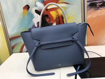 Celine Belt Bag Original Palm Skin Leather C3349 Blue