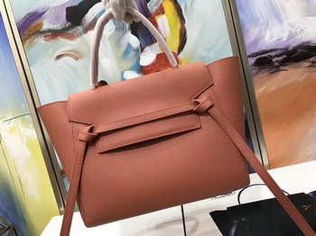 Celine Belt Bag Original Palm Skin Leather C3349 Orange
