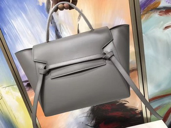 Celine Belt Bag Original Smooth Leather C3349 Grey