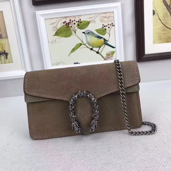 Gucci Dionysus Velvet Super mini Bag 476432 Apricot