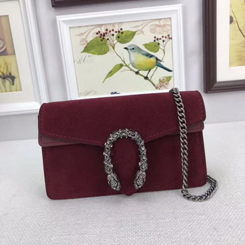 Gucci Dionysus Velvet Super mini Bag 476432 Red