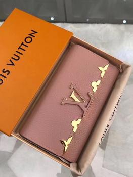 Louis Vuitton CRUISE 2017 CAPUCINES WALLET M64551 Pink