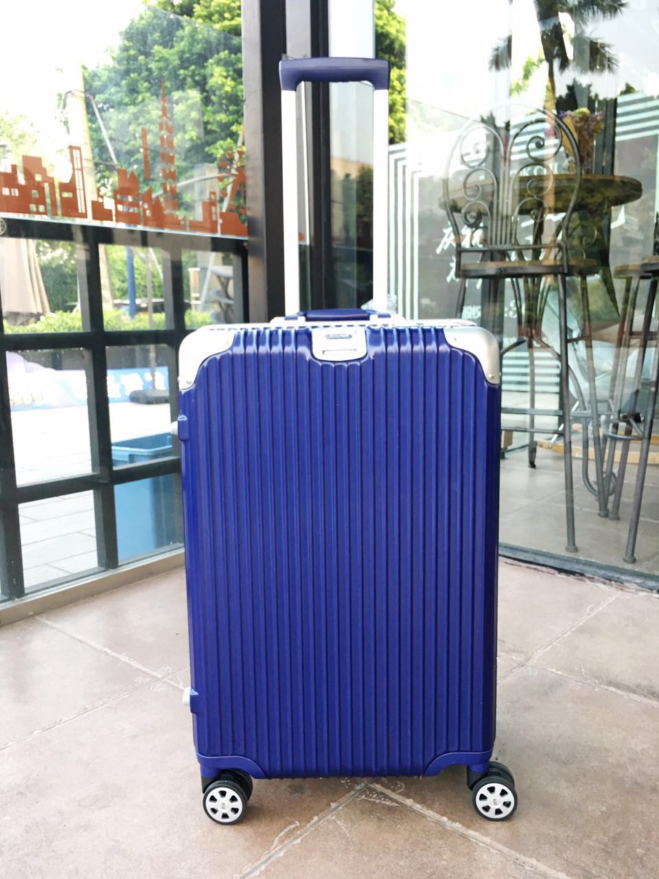 RIMOWA Travel Luggage 1783 Blue