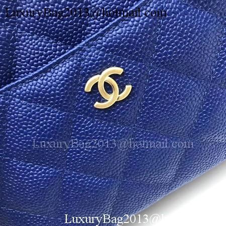 Chanel Shoulder Bag Original Cannage Pattern CHA6598 Blue